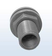PVC-Durchführung mit Innengewinde, 1 Zoll x 20 x 3/4 Zoll
