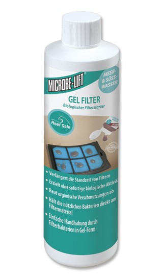 Gel Filter Cartridge Innoculant - 8 oz. - 236 ml