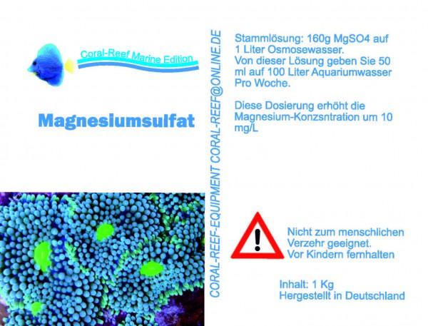 Magnesiumsulfat - 1 kg / Eimer