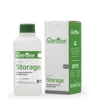 Hanna Gro Line Aufbewahrungslösung für Elektroden, 120mL-Flasche (HI70300-012)