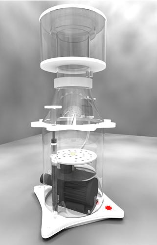 Skimz Protein Skimmer SV 207 DC Oval Abschäumer 400 – 1.200 l