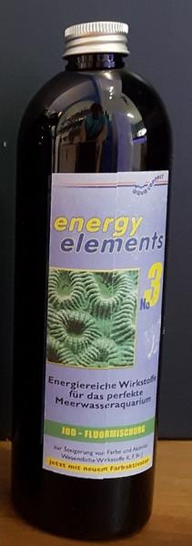 Aquaconnect Energy elements 500ml  Nr. 3