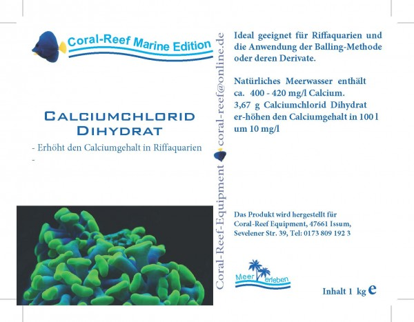 Calciumchlorid - 1 kg / Eimer