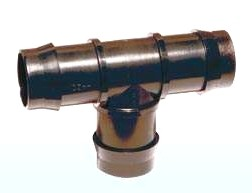 PP-T- Stück 3x Tülle 16 x 16 x 16 mm